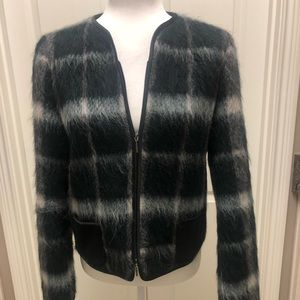 Contemporary wool/mohair/alpaca jacket